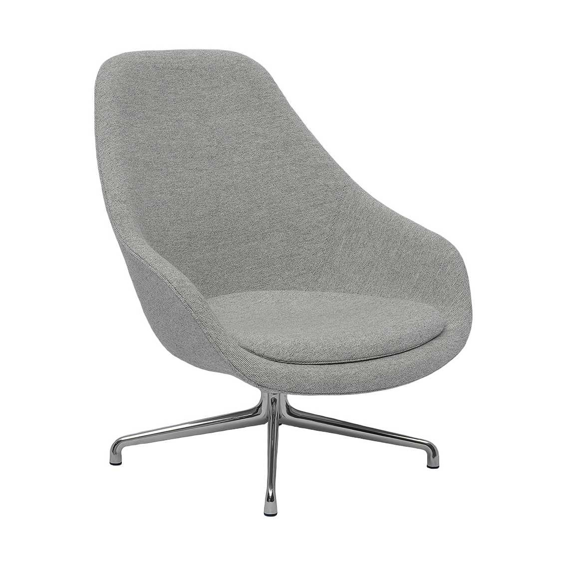 Hay Lounge Stoel.About A Lounge Chair High Aal91 Nordic New