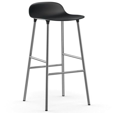 NORMANN COPENHAGEN FORM BARKRUK 75, CHROME BASIS