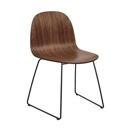 GUBI 2D CHAIR , SLED BASE
