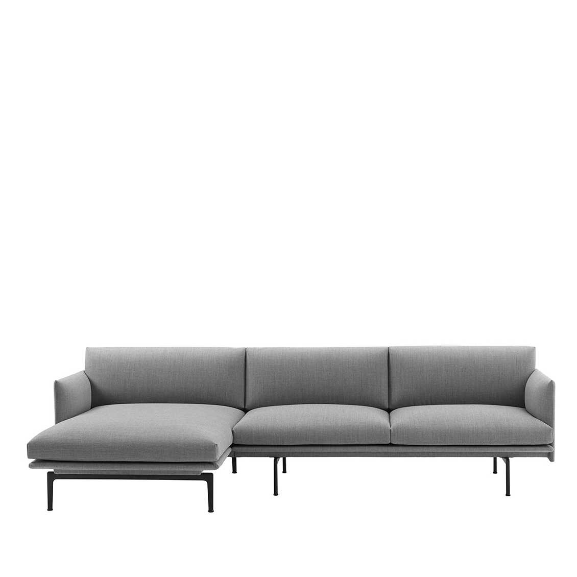 Hoekbank Met Chaise Longue.Outline Bank Met Chaise Longue