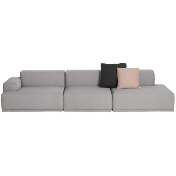 Terrific Connect Sofa 3 Seater Nordic New Interior Design Ideas Inamawefileorg