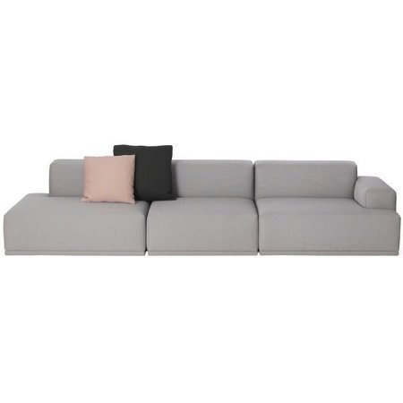 MUUTO CONNECT  SOFA 3 SEATER RIGHT OPEN