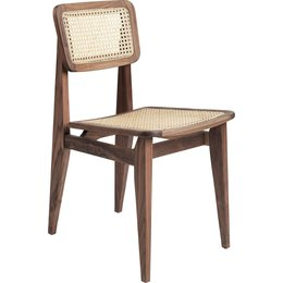 GUBI C-CHAIR, ALL FRENCH CANE