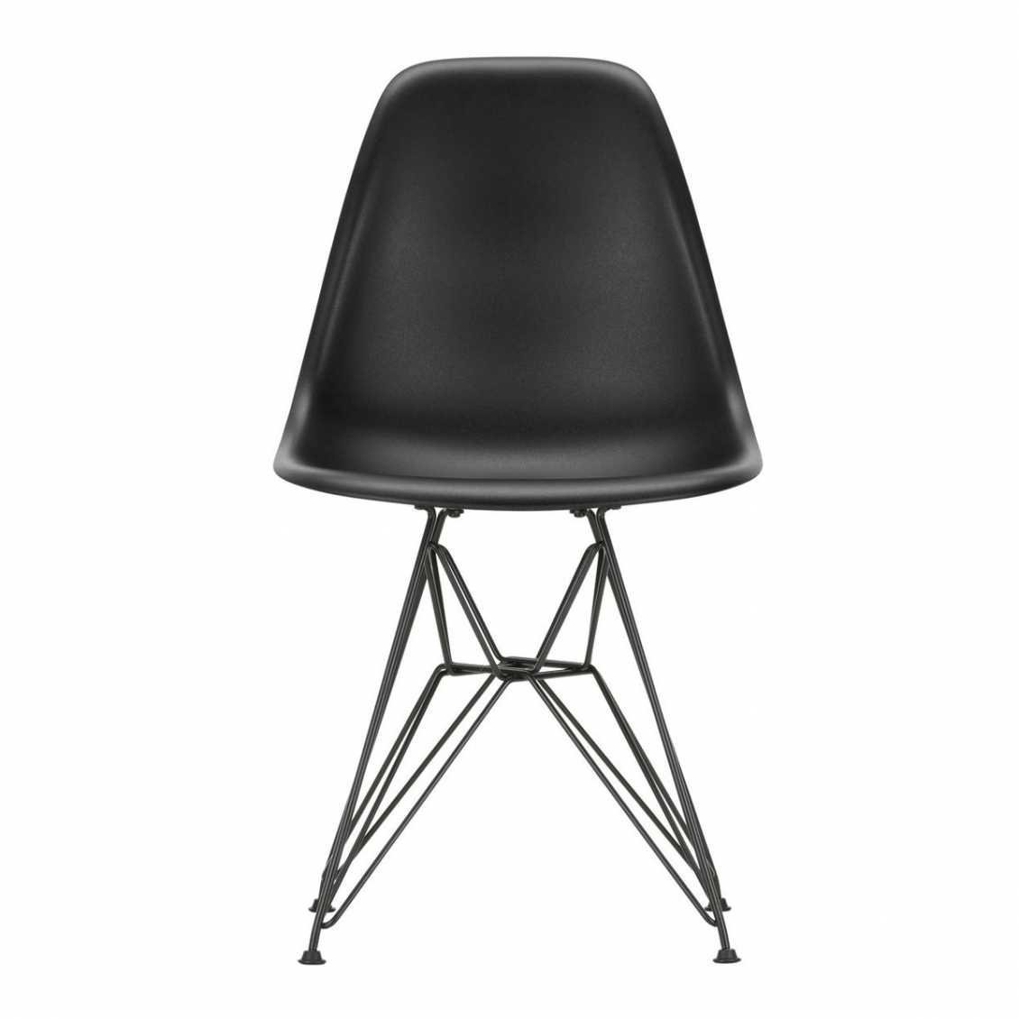Awe Inspiring Plastic Chair Dsr Black Nordic New Machost Co Dining Chair Design Ideas Machostcouk