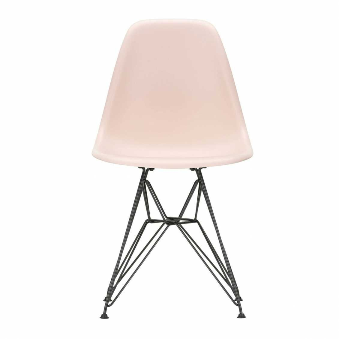 Swell Plastic Chair Dsr Basis Zwart Nordic New Machost Co Dining Chair Design Ideas Machostcouk