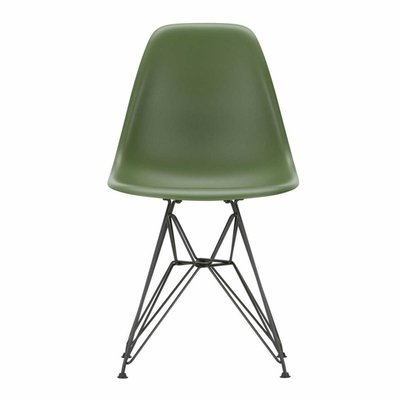 VITRA PLASTIC CHAIR DSR,   BLACK BASE