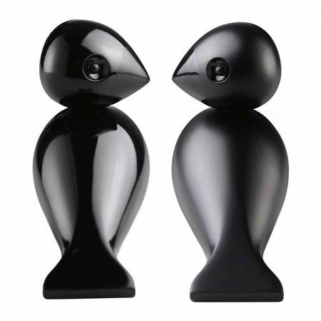 KAY BOJESEN  LOVEBIRDS SET BLACK