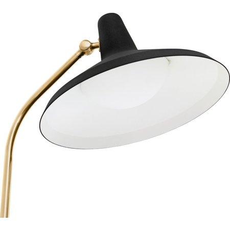 GUBI G-10 FLOOR LAMP BLACK / BRASS