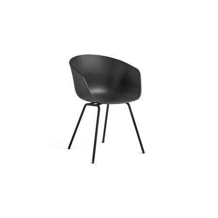 HAY AAC 26 DINING CHAIR, BLACK TUBE BASE