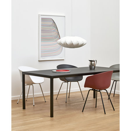 HAY AAC 26 DINING CHAIR, WHITE TUBE BASE