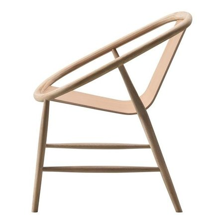 FREDERICIA FURNITURE EVE ARMCHAIR LACQUERED OAK