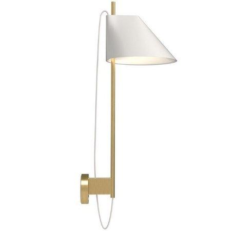LOUIS POULSEN YUH WALL LAMP, BRASS