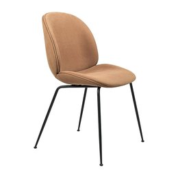 GUBI BEETLE DINING CHAIR  CONIC BASE UPHOLSTERD