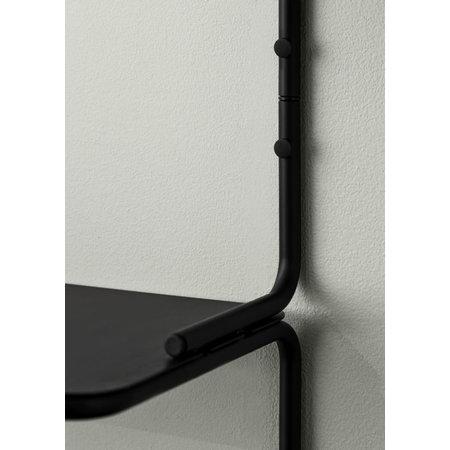 NORTHERN Wired wandplank zwart