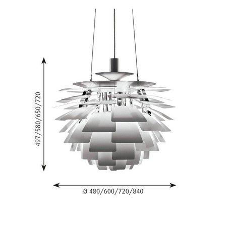LOUIS POULSEN PH ARTICHOKE 60 PENDANT LAMP
