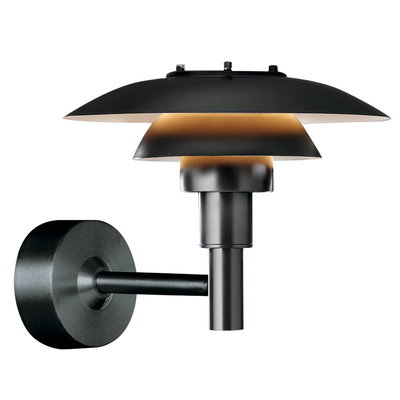 LOUIS POULSEN PH 3-2 1/2 OUTDOOR WALL LAMP