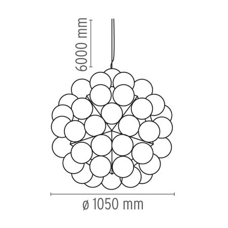 FLOS TARAXACUM 88 PENDANT LAMP