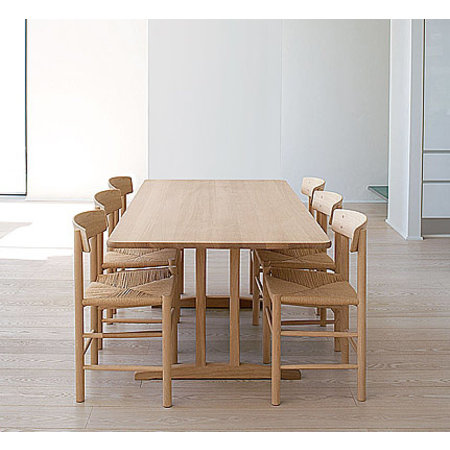 FREDERICIA FURNITURE C18 DINING TABLE 220 x 90