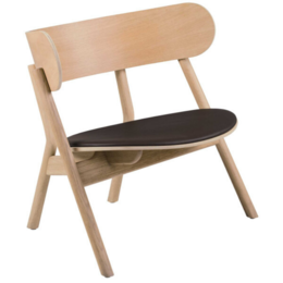 NORTHERN OAKI LOUNGE CHAIR + SEAT PAD