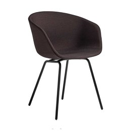 HAY AAC 27  CHAIR,  UPHOLSTERED - TUBE BASE