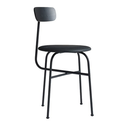 MENU AFTEROOM  DINING CHAIR 4 LEATHER UPH.