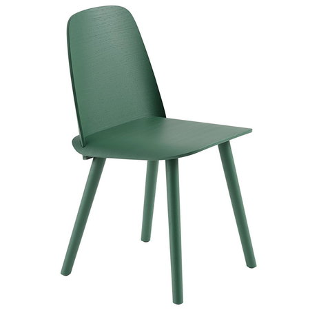 MUUTO Nerd Chair / Water-based lacquered ash