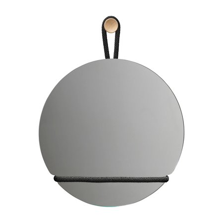 DESIGN HOUSE STOCKHOLM LASSO WALL MIRROR ROUND