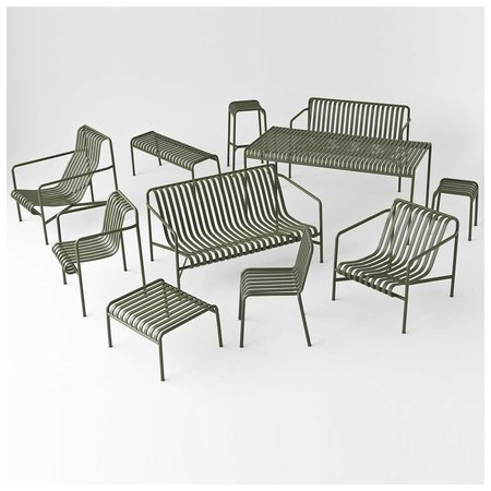 HAY PALISSADE DINING OUTDOOR ARMCHAIR