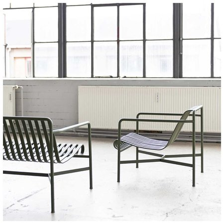 HAY PALISSADE LOUNGE CHAIR LOW
