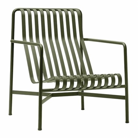 HAY PALISSADE LOUNGE CHAIR HIGH