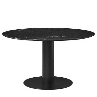 GUBI ROUND 2.0 DINING TABLE Ø 110, MARBLE