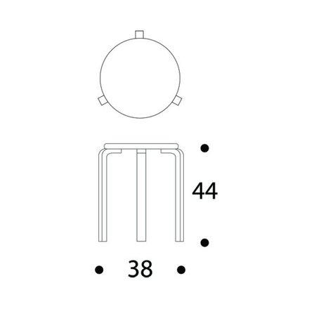 ARTEK DESIGN STOOL 60