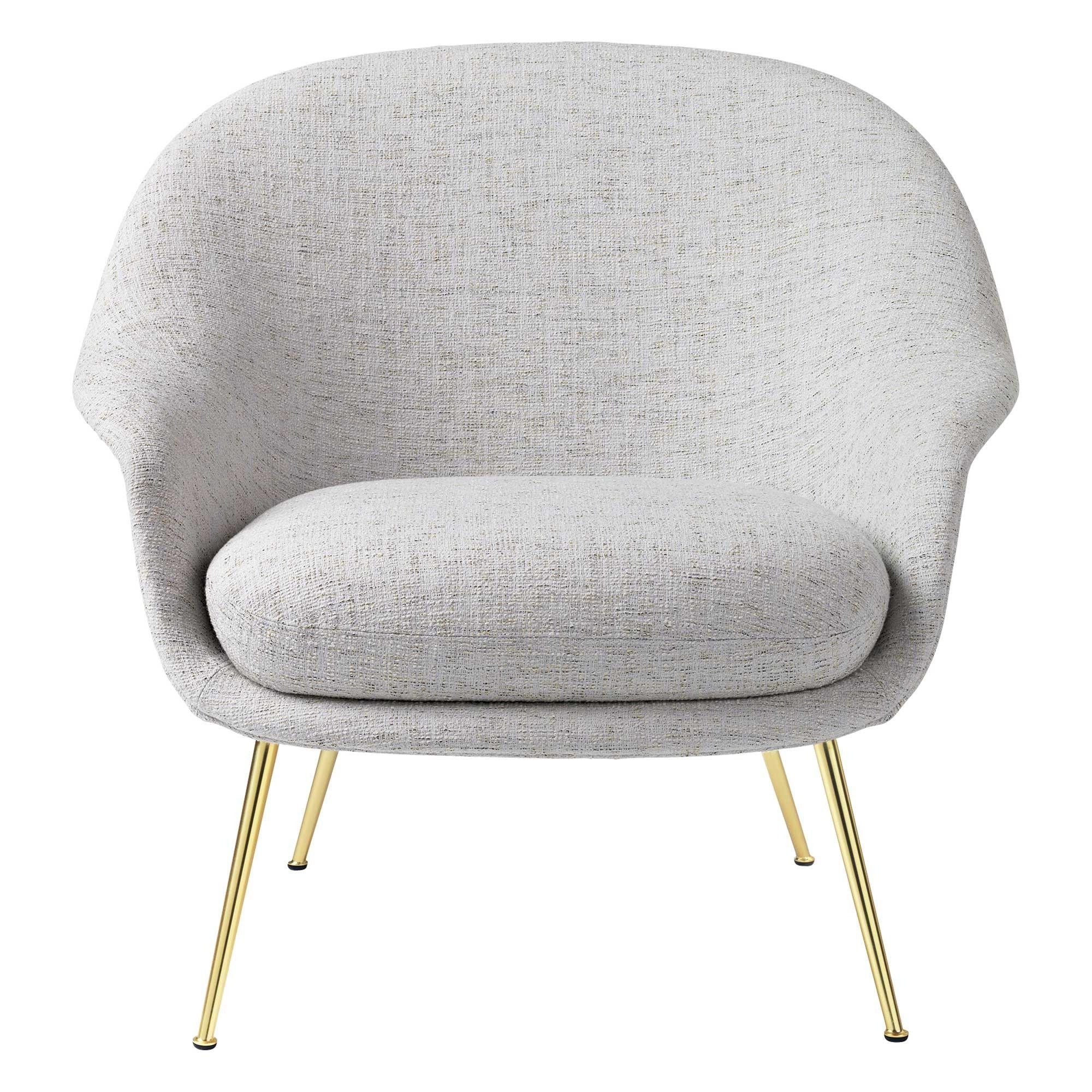 Lage Lounge Stoel.Bat Lounge Chair Low Back Messing Base Nordic New