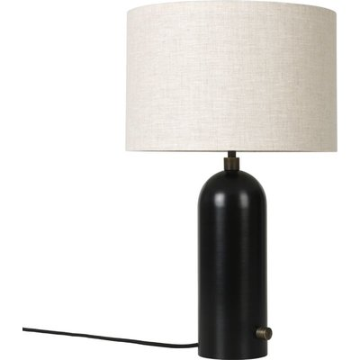 GUBI GRAVITY TABLE LAMP SMALL BLACKENED STEEL