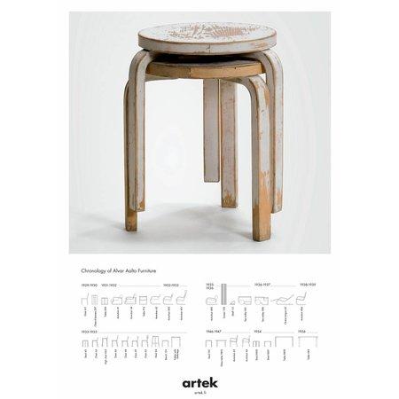 ARTEK DESIGN  STOOL 60 VINTAGE POSTER