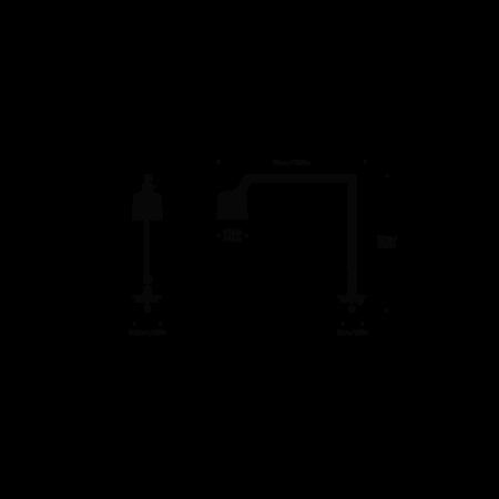 VIPP DESK LAMP 521 W / INSERT