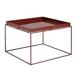 HAY Tray salontafel chocolade high gloss 60 x 60