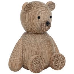 LUCIE KAAS TEDDY BEAR WOODEN ANIMAL