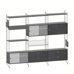 STRING WALL CABINET COMBINATION 1