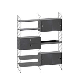 STRING WALL CABINET  COMBINATION 3