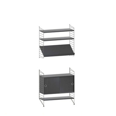 STRING WALL CABINET  COMBINATION 5