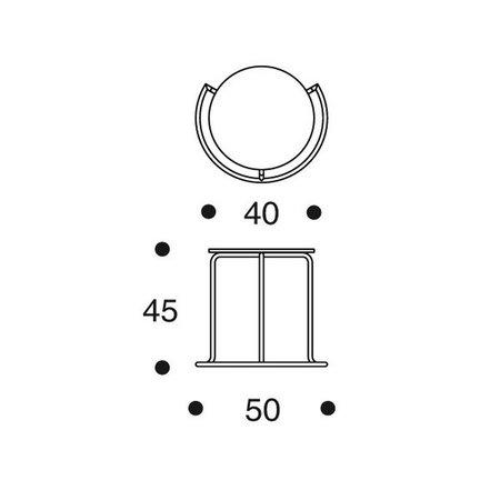 ARTEK 606 SIDE TABLE