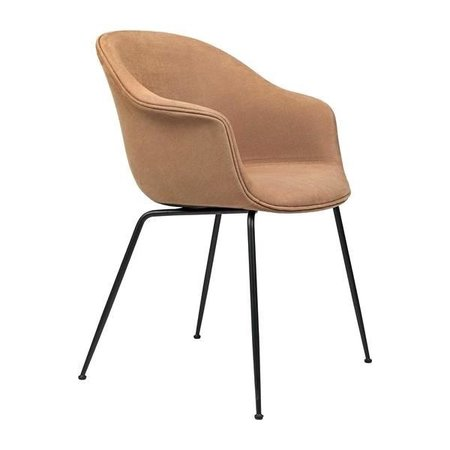 GUBI BAT DINING CHAIR  FULLY UP. CHIVASSO BLACK CONIC BASE