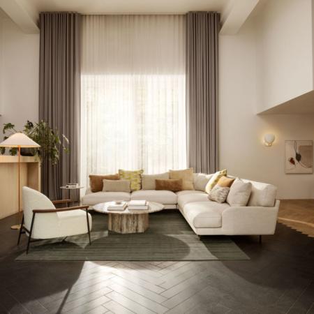 GUBI Sejour lounge armstoel