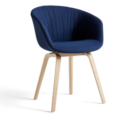 HAY AAC 23  SOFT CHAIR  - WOOD BASE