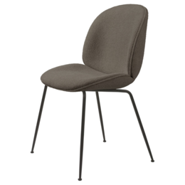 GUBI BEETLE CHAIR  UPH. GUBI BOUCLE 004  - CONIC BASE   - FAST TRACK