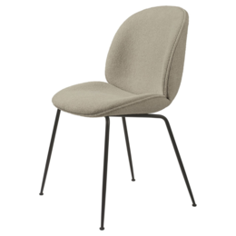GUBI BEETLE CHAIR  UPH. GUBI BOUCLE 008  - CONIC BASE   - FAST TRACK