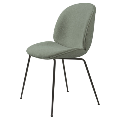 GUBI BEETLE CHAIR  UPH. GUBI BOUCLE 012 - CONIC BASE   - FAST TRACK