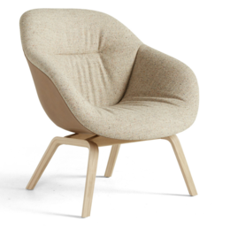 HAY AAL 83 SOFT DUO CHAIR TAPERED WOOD BASE