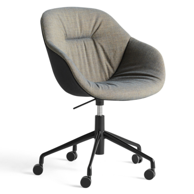 HAY AAC 153  soft duo swivel chair with castors and gas lift